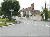 TR2647 : The Bell Inn, Coldred Road by John Baker