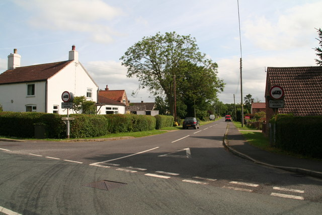 Mill Lane: the road to Langton