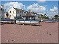 SX9372 : Boats on the beach, Shaldon by Alan Hunt