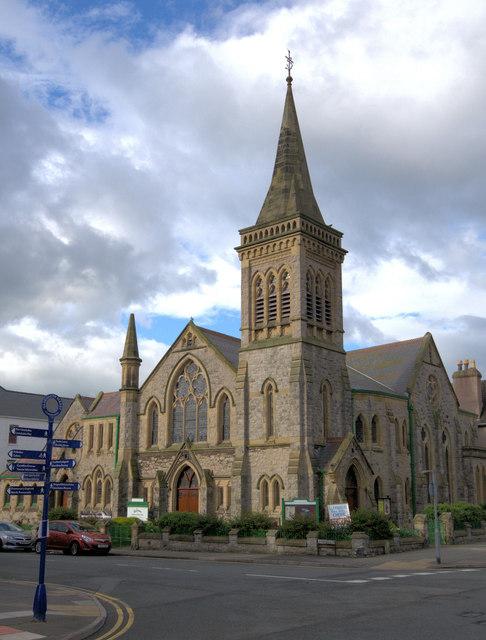 Gloddaeth United Church Llandudno by Arthur C Harris