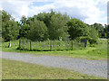 SK2503 : Old mine shaft at Pooley Country Park by Alan Murray-Rust