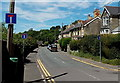 SS9983 : Trio of No Through Road signs in Llanharan by Jaggery