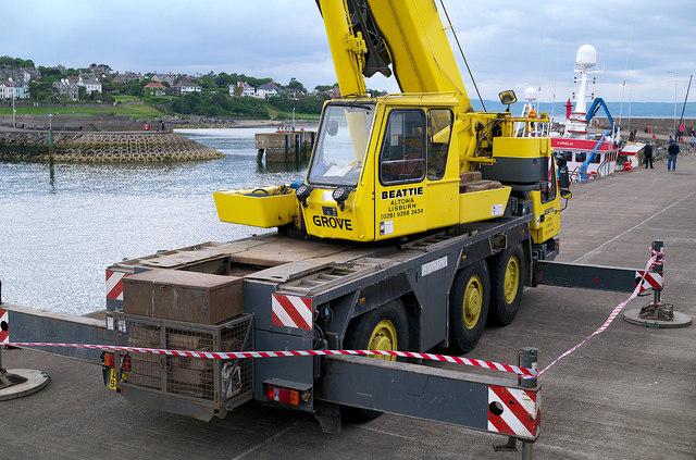 Crane, Bangor harbour