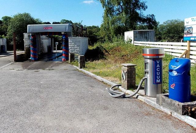 Car Wash And Vacuum Area At Llanharan C Jaggery Geograph