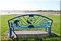 SD0896 : Bench with a view, Ravenglass by Rob Noble