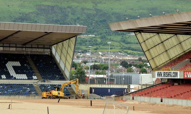 Windsor Park football ground, Belfast - June 2014(4)