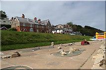 TA1280 : Filey - Seafront (Crazy Golf) by Alan Heardman