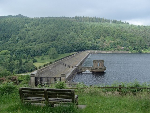 Ladybower Reservoir dam