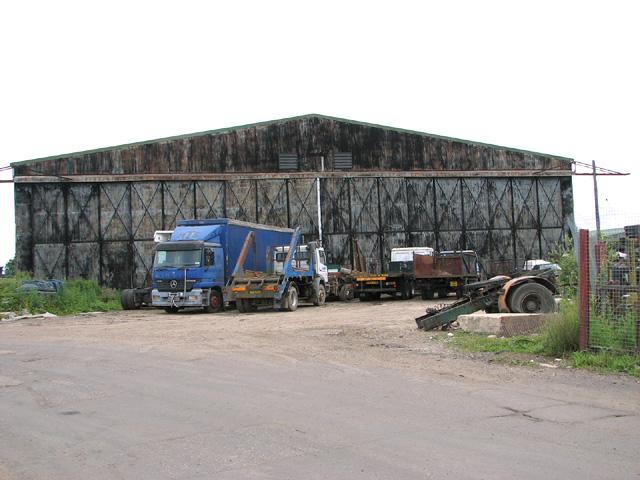 RAF hangar on Shipdham industrial estate