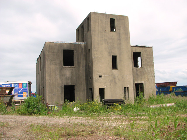 The control tower at RAF Shipdham