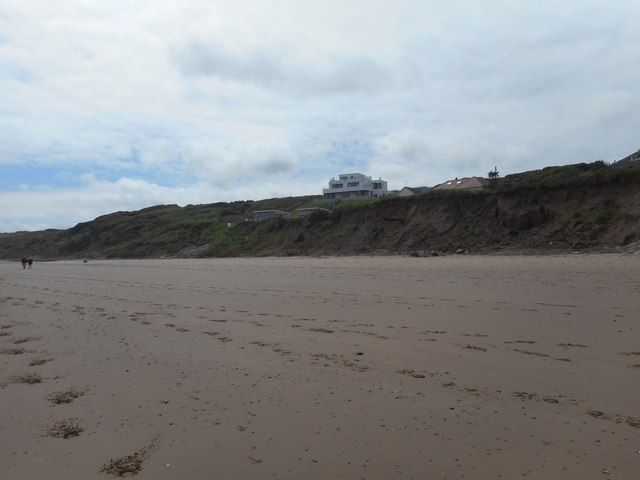 Hunmanby Sands and The White House