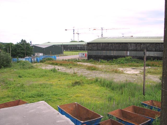 RAF hangars on Shipdham industrial estate