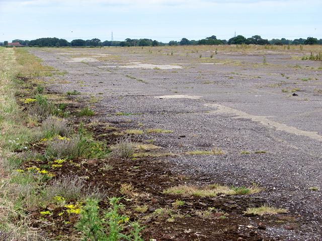 The SE/NW runway at RAF Shipdham