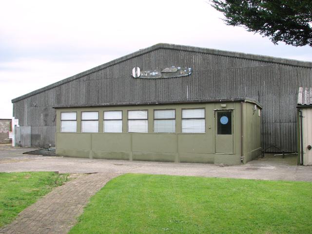 Hangar at the Shipdham Flying Club