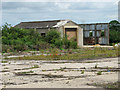 TF9906 : The former Sick quarters site of RAF Shipdham by Evelyn Simak