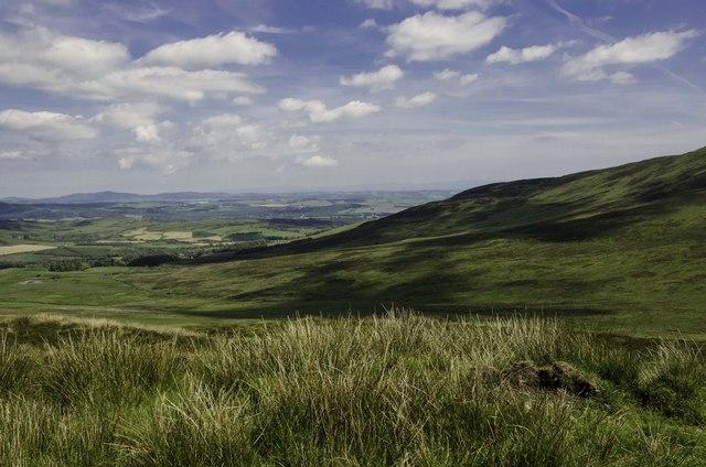 Moorland at Cambret