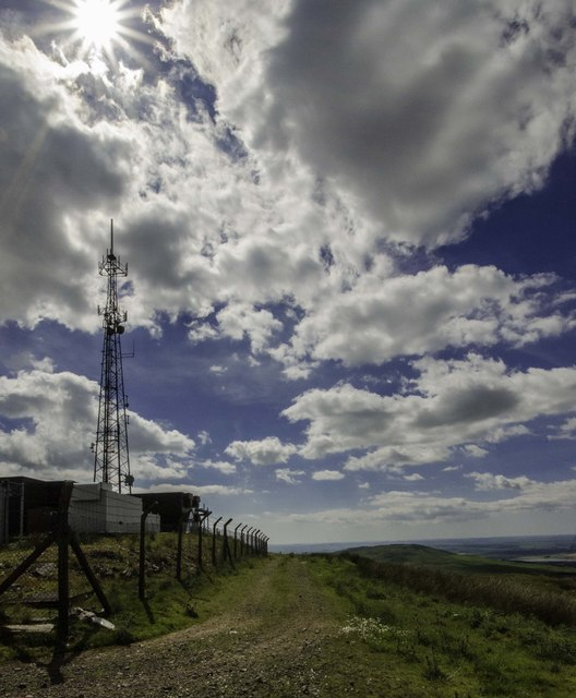 Communication Tower at Cambret Hill