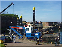 NT6779 : Coastal East Lothian : Hanging Out At Victoria Harbour by Richard West