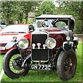 SJ9593 : Alvis GN7735 at Gee Cross Fete 2014 by Gerald England