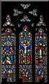 TQ7218 : East Window, St John's church, Netherfield by Julian P Guffogg