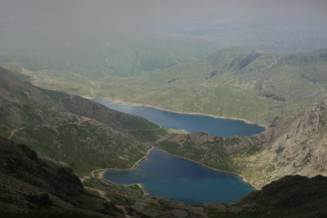 View From the Llanberis Path