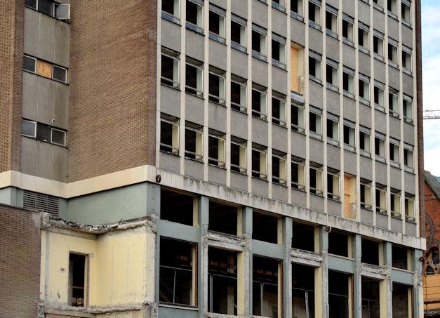 Former library, Queen's University, Belfast - June 2014(1)