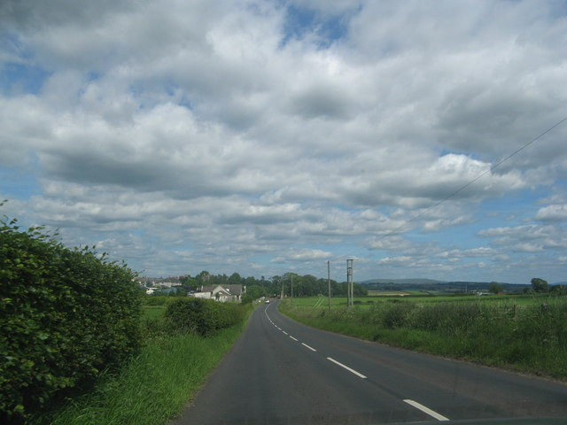 The B744 road to Tarbolton