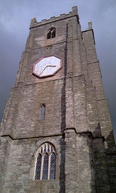 St Mary Magdalen Church Tower Launceston