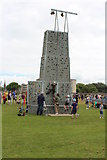 NS3321 : Climbing Wall, Low Green Ayr by Billy McCrorie