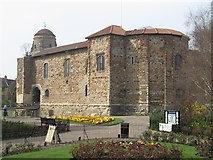 TL9925 : Colchester Castle by Mike Quinn