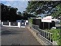 NY1131 : James Walker factory entrance Cockermouth by Steve  Fareham