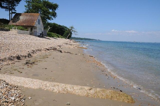 Beach near Ethel Point