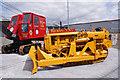 NH5348 : Caterpillar D4 bulldozer by Richard Dorrell