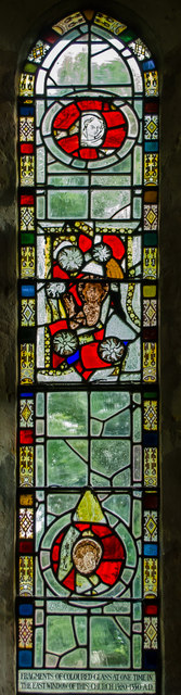 Stained Glass Window St Thomas Becket 169 Julian P