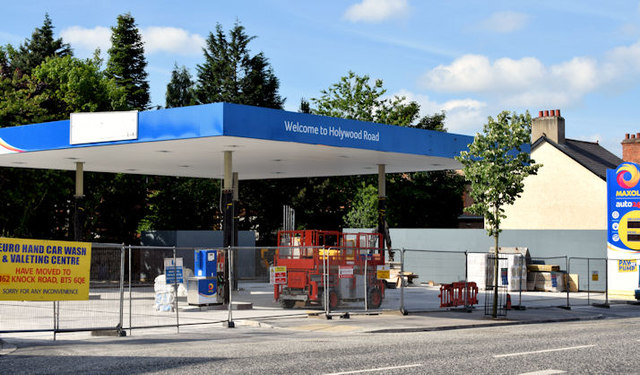 New petrol station, Holywood Road, Belfast (June 2014)