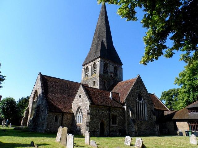 Church of St Mary and St Hugh, Churchgate Street