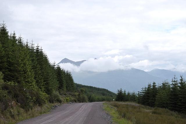 View of Ben Cruachan