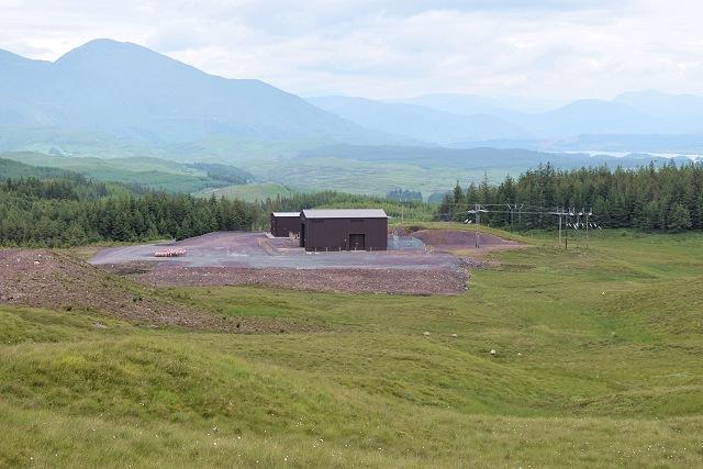 Substation for the Carraig Gheal wind farm