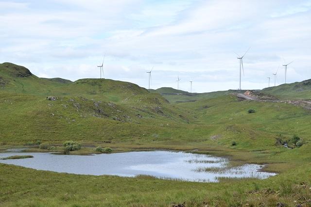 Dam on the Allt na Maoile