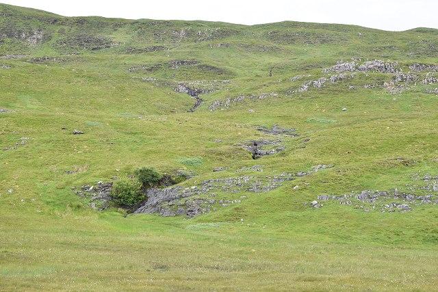 Moorland drainage