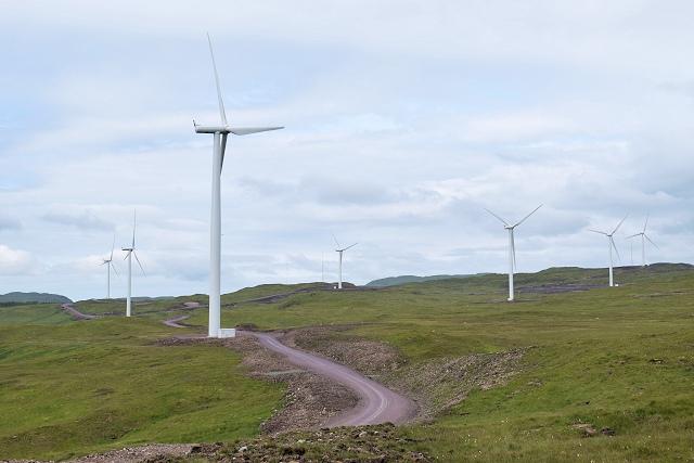 Carraig Gheal wind farm