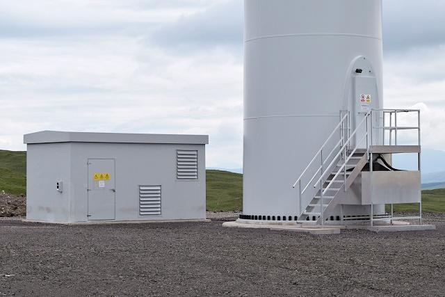 Wind turbine infrastructure