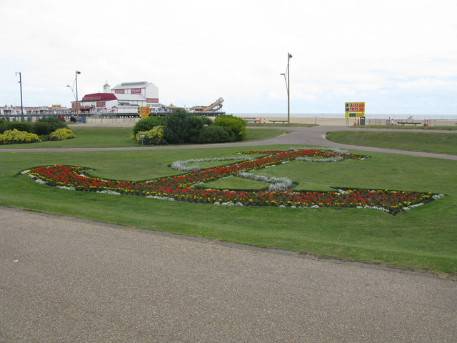 Floral Anchor, Great Yarmouth