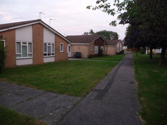 Northbourne: Dudley Gardens bungalows