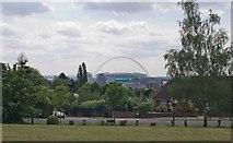 TQ1985 : Wembley Stadium by Julian Osley