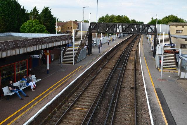 Egham station