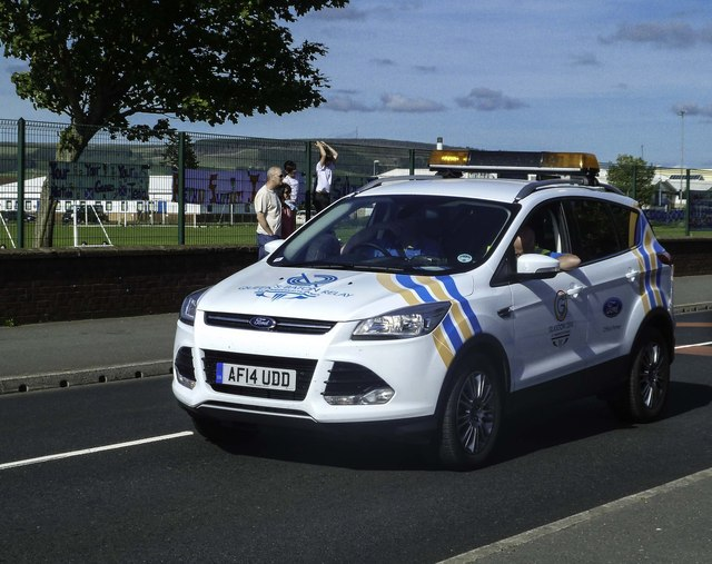 Queen's Baton Relay Support Vehicle