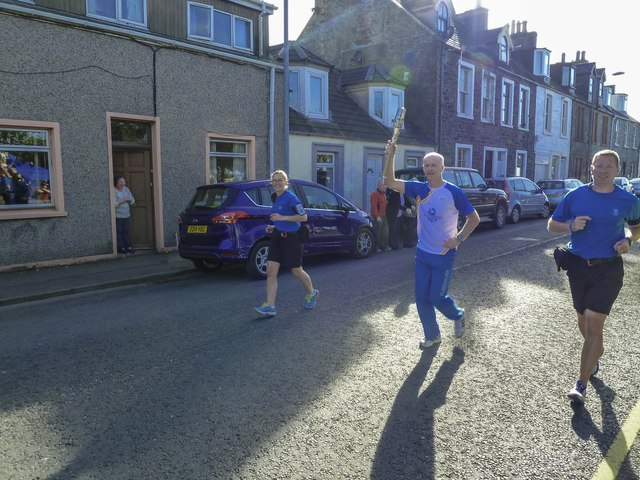 Baton Relay in Stranraer