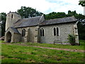 TF8417 : Ancient church in West Lexham by Richard Humphrey