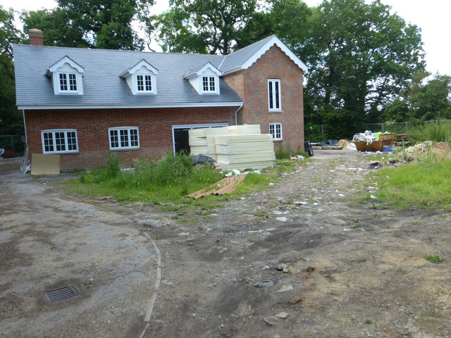 Renovation on West Flexford Lane